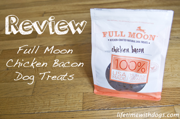 full moon chicken bacon dog treats review